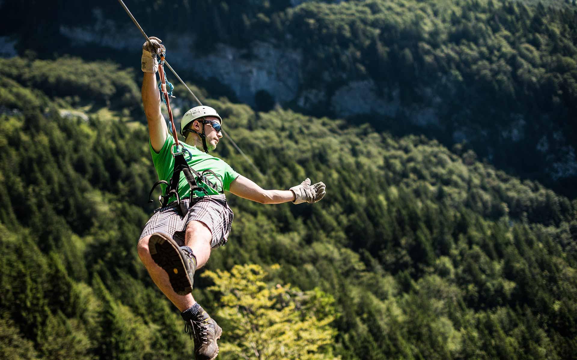 Največji Zipline park v Sloveniji