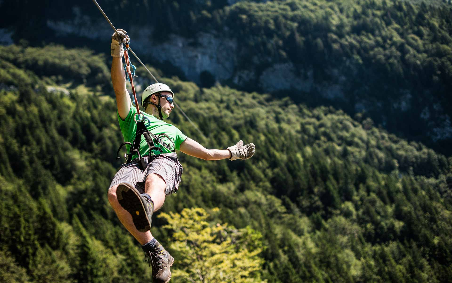 The biggest zipline in Slovenia